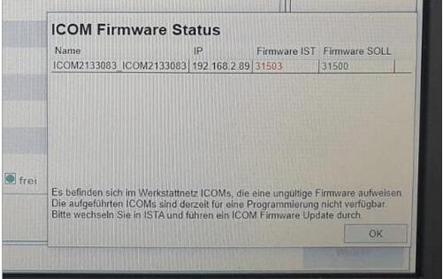 ICOM - Next - Firmware - is - too - new - to