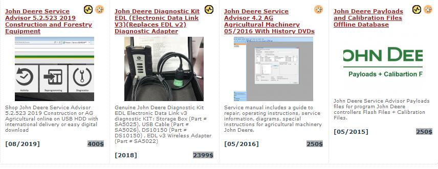 Screenshots - for - John - Deere - Service - Advisor - 2