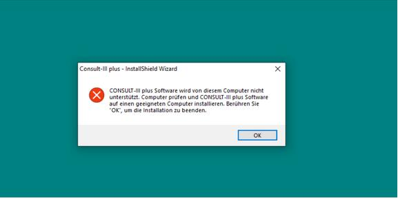 Consult - III - Plus - error - not - supported - by - this - computer - 1