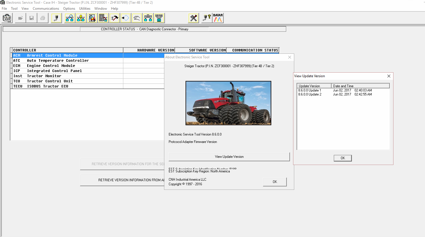 New Holland Electronic Service Tools - 2-7